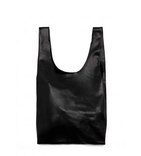 Кожаная сумка POOLPARTY Tote