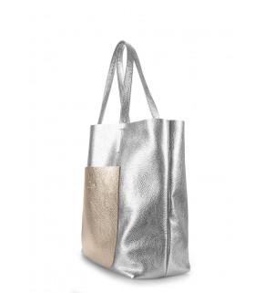 Кожаная сумка POOLPARTY Mania