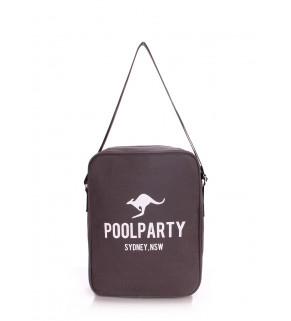 Мужская сумка POOLPARTY с ремнем на плечо
