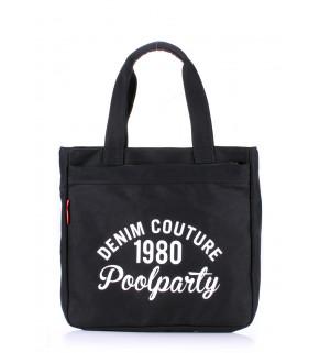 Коттоновая сумка POOLPARTY Oldschool