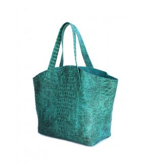 Кожаная сумка POOLPARTY Fiore